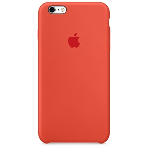 Купить Силиконовый чехол Apple Silicone Case Orange (MKXQ2) для iPhone 6s Plus