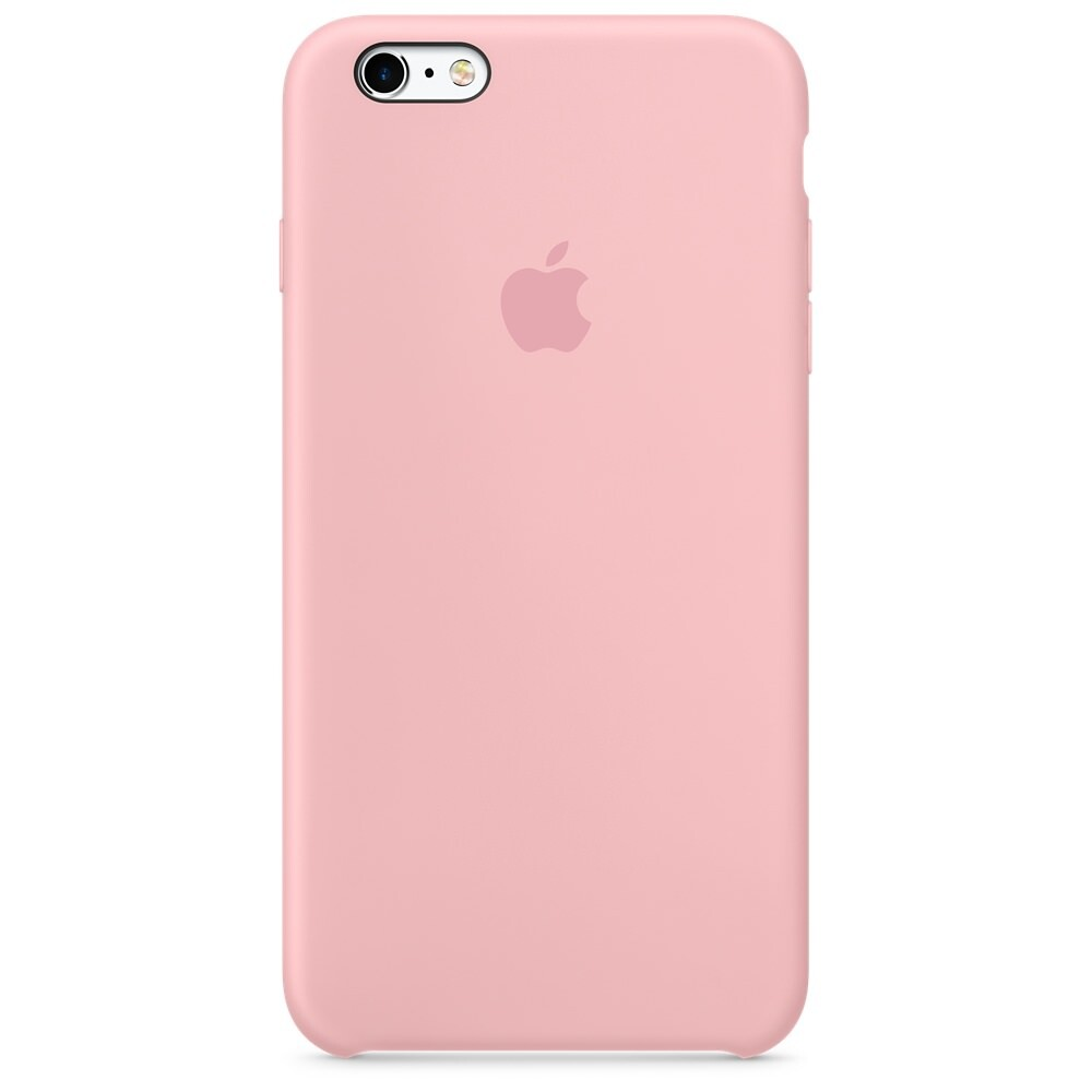 Силиконовый чехол Apple Silicone Case Pink (MLCY2) для iPhone 6s Plus