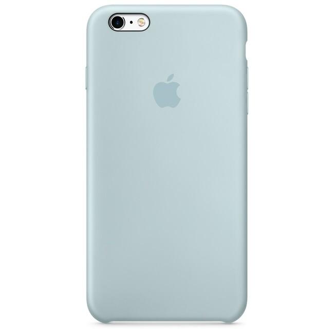 Силиконовый чехол Apple Silicone Case Turquoise (MLD12) для iPhone 6s Plus