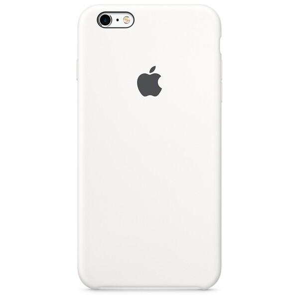 Силиконовый чехол Apple Silicone Case White (MKXK2) для iPhone 6s Plus