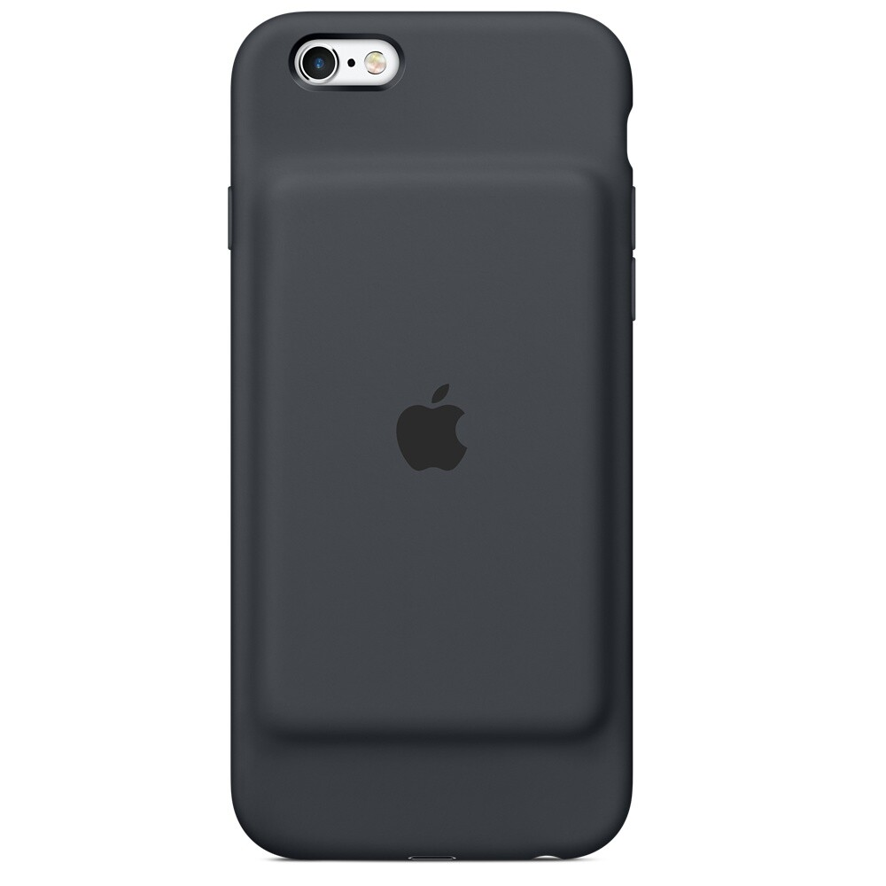 Чехол-аккумулятор Apple Smart Battery Case Charcoal Gray (MGQL2) для iPhone 6/6s
