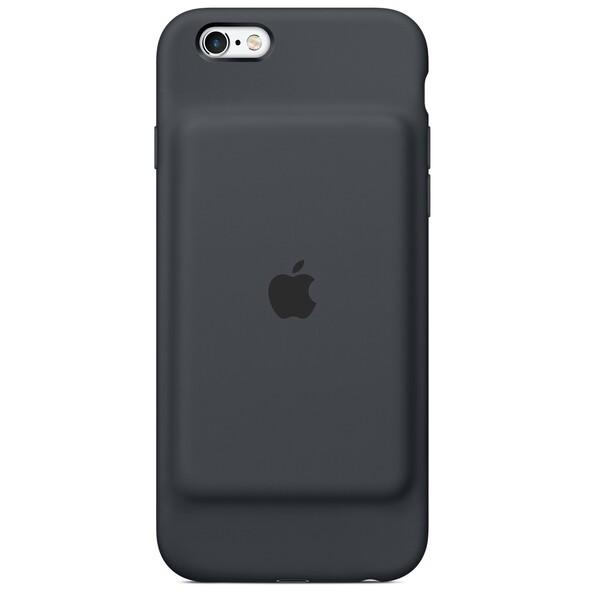 Чехол-аккумулятор Apple Smart Battery Case Charcoal Gray (MGQL2) для iPhone 6 | 6s