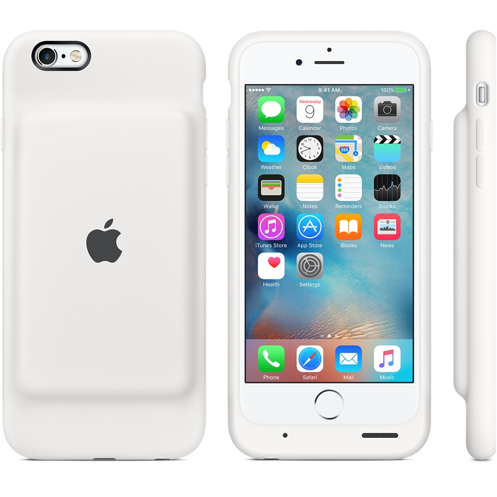 cheap for discount 23519 21b53 Чехол-аккумулятор Apple Smart Battery Case White (MGQM2) для iPhone 6/6s