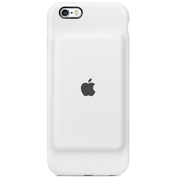 Чехол-аккумулятор Apple Smart Battery Case White (MGQM2) для iPhone 6 | 6s