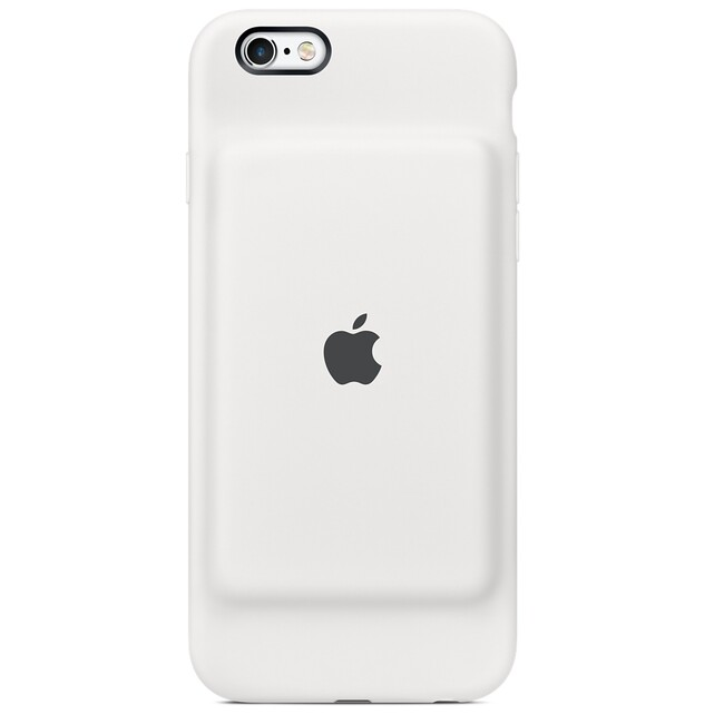 Чехол-аккумулятор Apple Smart Battery Case White (MGQM2) для iPhone 6/6s