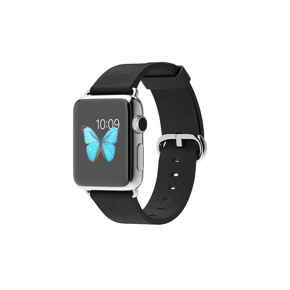 Часы Apple Watch 38mm Black Classic Buckle