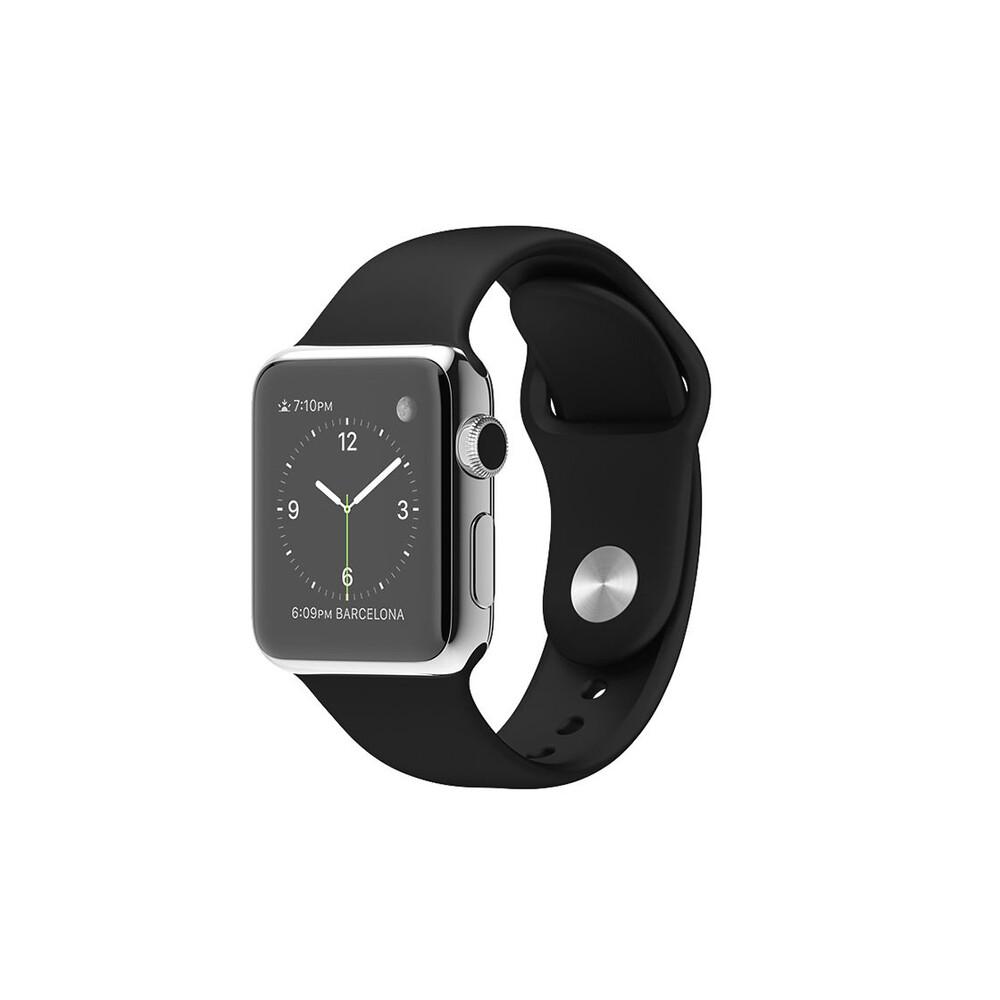 Часы Apple Watch 38mm Black Sport Band