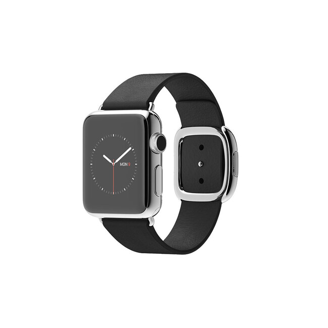 Часы Apple Watch 38mm Black Modern Buckle