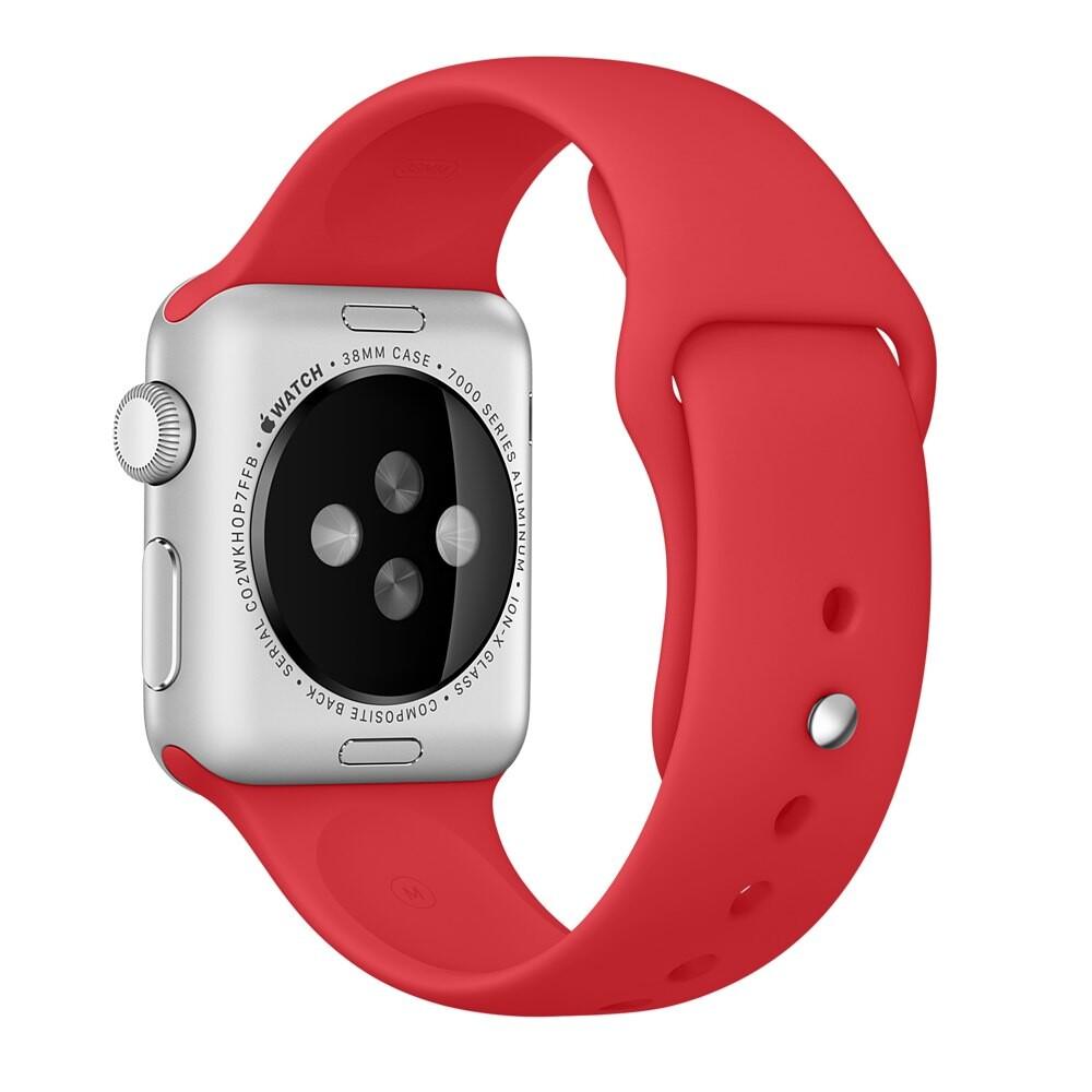 Ремешок Apple 38mm (PRODUCT) Red Sport Band (MLD82) для Apple Watch Series 1/2