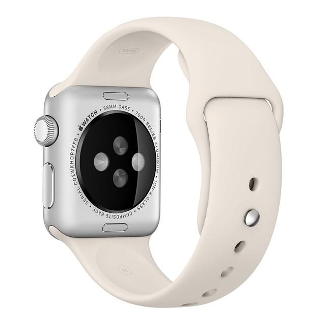 Ремешок Apple 38mm Antique White Sport Band (MLKU2) для Apple Watch