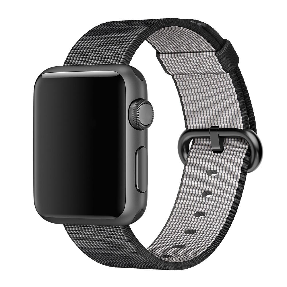 Ремешок Apple 38mm/40mm Black Woven Nylon (MM9L2) для Apple Watch Series 5/4/3/2/1