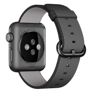 Купить Ремешок Apple 38mm Black Woven Nylon (MM9L2) для Apple Watch