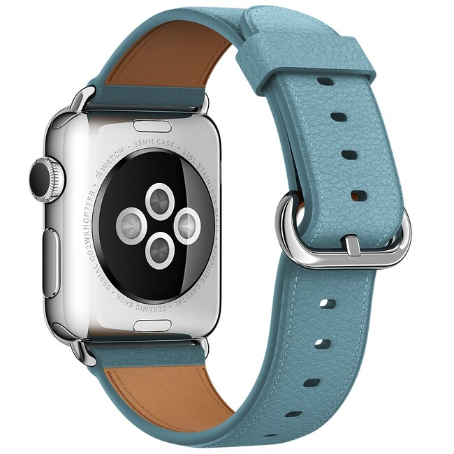Ремешок Apple 38mm Blue Jay Classic Buckle (MMGN2) для Apple Watch