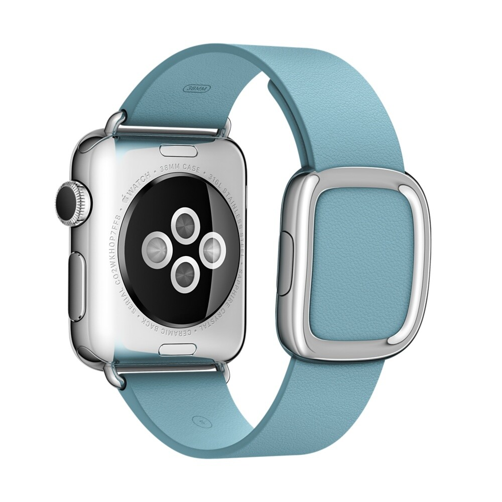 Ремешок Apple 38mm Blue Jay Modern Buckle (MME32) Medium для Apple Watch Series 1/2/3