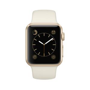 Купить Часы Apple Watch Sport 38mm Gold с мраморно-белым ремешком