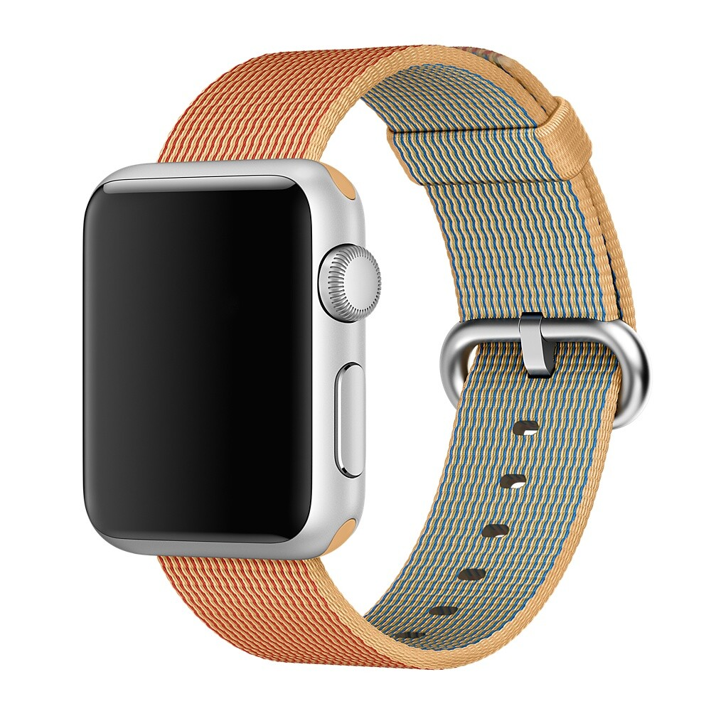 Ремешок Apple 38mm Gold/Red Woven Nylon (MM9R2) для Apple Watch Series 1/2/3