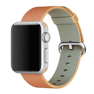 Купить Ремешок Apple 38mm Gold/Red Woven Nylon (MM9R2) для Apple Watch Series 1/2