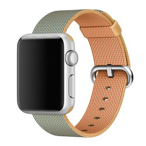 Купить Ремешок Apple 38mm Gold/Royal Blue Woven Nylon (MM9M2) для Apple Watch Series 1/2