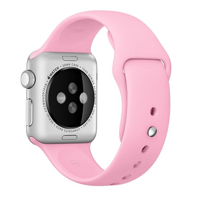Ремешок Apple 38mm Light Pink Sport Band (MM902) для Apple Watch