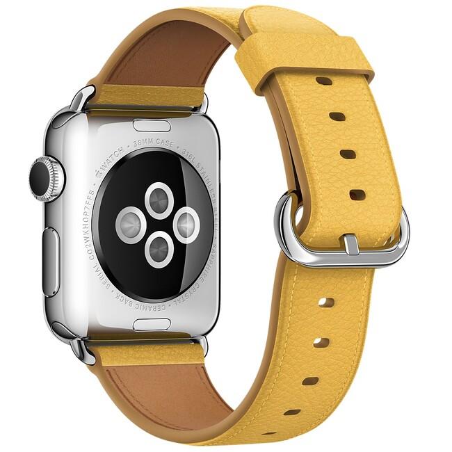 Ремешок Apple 38mm Marigold Classic Buckle (MMH72) для Apple Watch Series 1/2