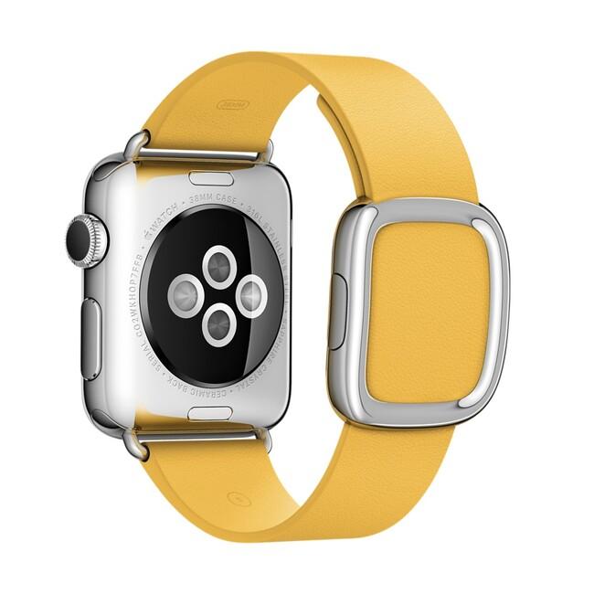Ремешок Apple 38mm Marigold Modern Buckle (MMAY2) Medium для Apple Watch Series 1/2