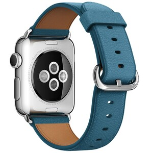 Купить Ремешок Apple 38mm Marine Blue Classic Buckle (MMH62) для Apple Watch Series 1/2/3