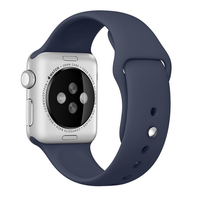 Ремешок Apple 38mm Midnight Blue Sport Band (MLKX2) для Apple Watch