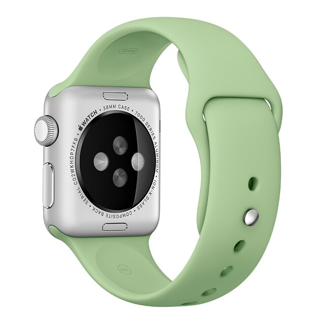 Ремешок Apple 38mm Mint Sport Band (MM7Y2) для Apple Watch