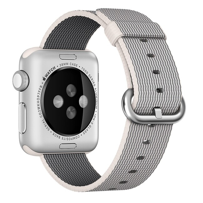 Ремешок Apple 38mm Pearl Woven Nylon (MM9T2) для Apple Watch