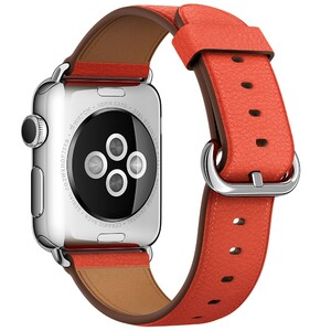 Купить Ремешок Apple 38mm Red Classic Buckle (MMAH2) для Apple Watch Series 1/2