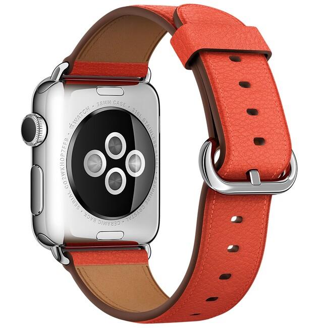 Ремешок Apple 38mm Red Classic Buckle (MMAH2) для Apple Watch