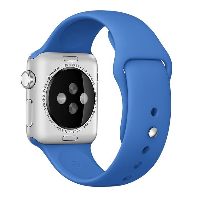 Ремешок Apple 38mm Royal Blue Sport Band (MM7V2) для Apple Watch Series 1/2
