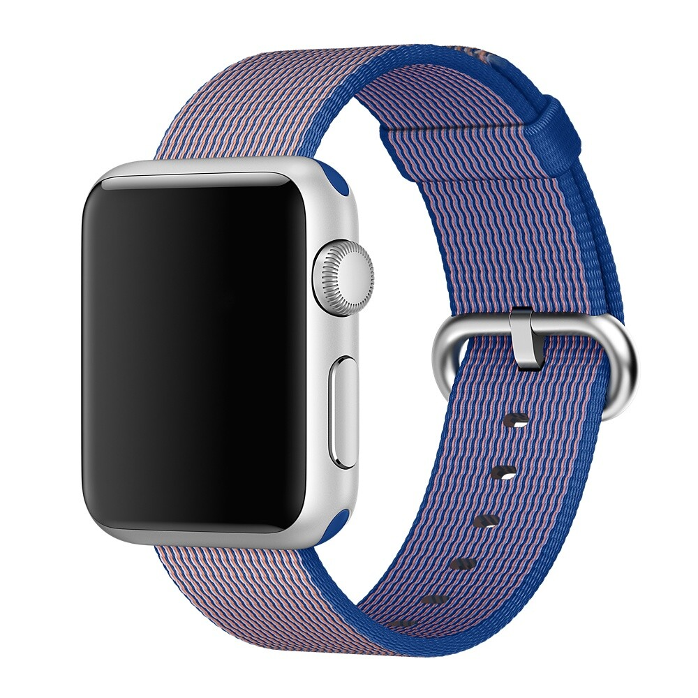 Ремешок Apple 38mm Royal Blue Woven Nylon (MM9N2) для Apple Watch Series 1/2/3