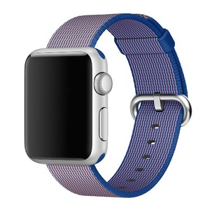 Купить Ремешок Apple 38mm Royal Blue Woven Nylon (MM9N2) для Apple Watch Series 1/2/3