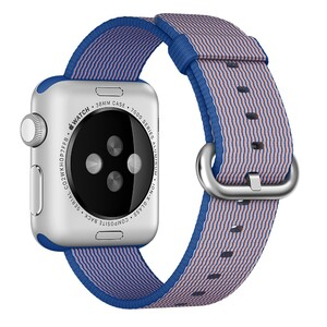 Купить Ремешок Apple 38mm Royal Blue Woven Nylon (MM9N2) для Apple Watch