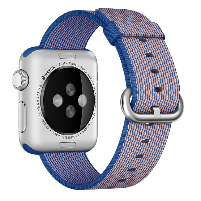 Ремешок Apple 38mm Royal Blue Woven Nylon (MM9N2) для Apple Watch