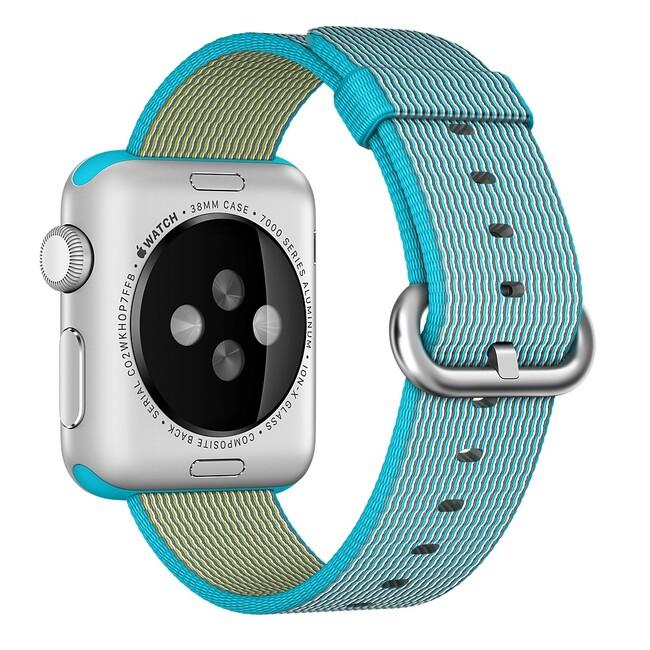Ремешок Apple 38mm Scuba Blue Woven Nylon (MM9K2) для Apple Watch
