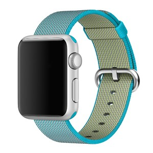 Купить Ремешок Apple 38mm Scuba Blue Woven Nylon (MM9K2) для Apple Watch Series 1/2