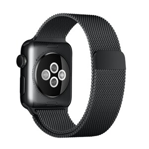 Купить Ремешок Apple 38mm Space Black Milanese Loop (MLJJ2) для Apple Watch Series 1/2