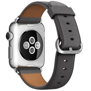 Купить Ремешок Apple 38mm Storm Gray Classic Buckle (MMGQ2) для Apple Watch Series 1/2/3