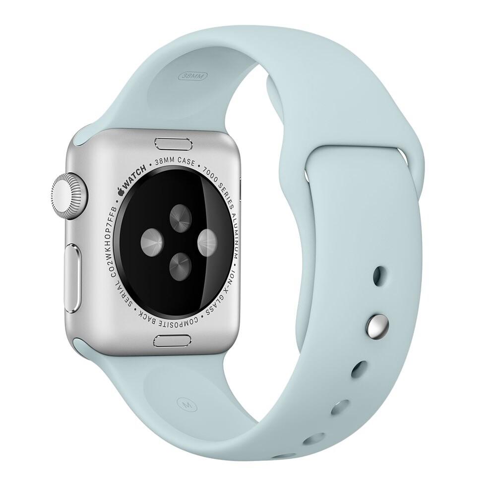 Ремешок Apple 38mm Turquoise Sport Band (MLDH2) для Apple Watch Series 1/2