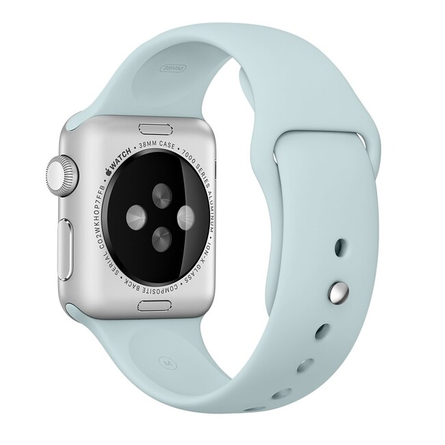 Ремешок Apple 38mm Turquoise Sport Band (MLDH2) для Apple Watch