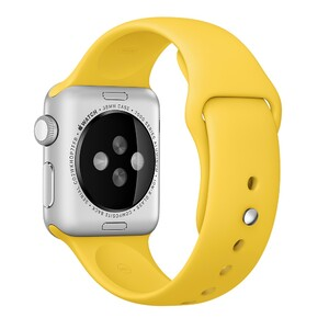 Купить Ремешок Apple 38mm Yellow Sport Band (MM7X2) для Apple Watch