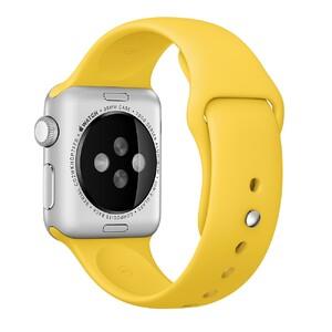 Купить Ремешок Apple 38mm Yellow Sport Band (MM7X2) для Apple Watch Series 1/2