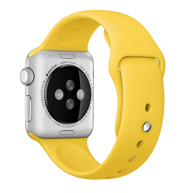 Ремешок Apple 38mm Yellow Sport Band (MM7X2) для Apple Watch