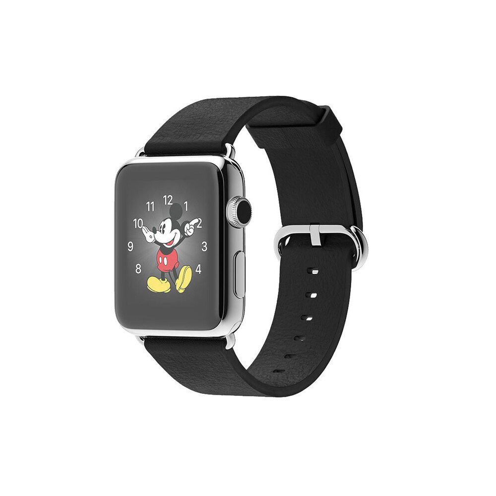 Часы Apple Watch 42mm Black Classic Buckle