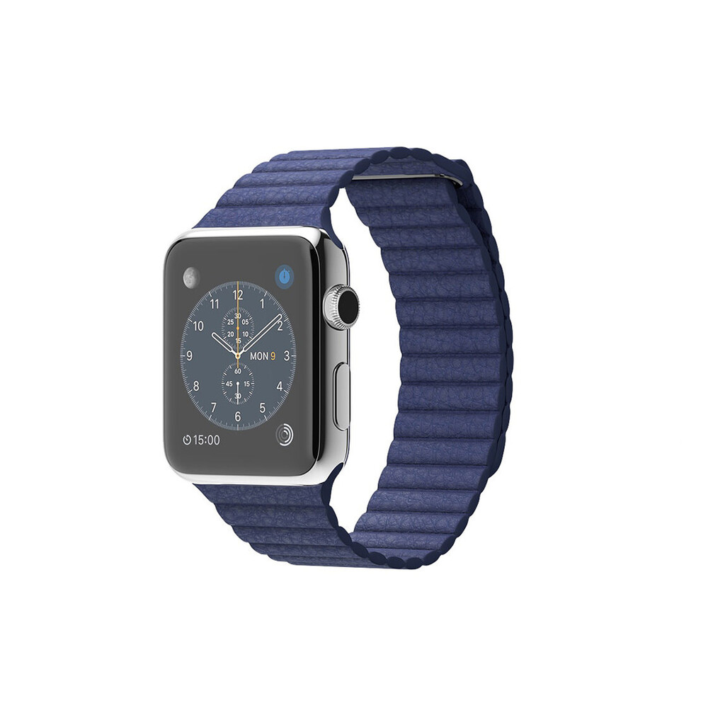 Часы Apple Watch 42mm Bright Blue Leather Loop