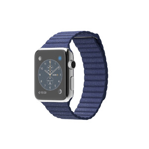 Купить Часы Apple Watch 42mm Bright Blue Leather Loop