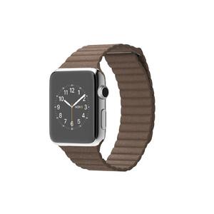Купить Часы Apple Watch 42mm Light Brown Leather Loop