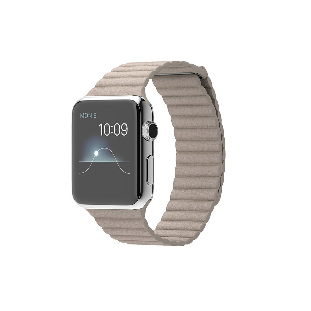 Купить Смарт-часы Apple Watch 42mm Stone Leather Loop
